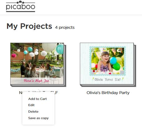 Sharing – Picaboo Customer Support